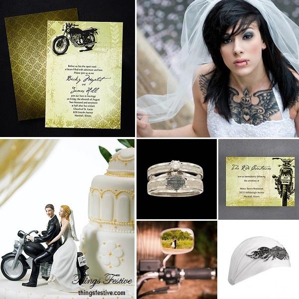 Motorcycle Wedding Theme Things Festive Weddings Amp Events