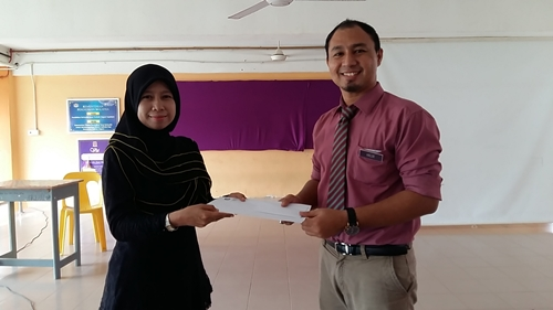 Cikgu Hailmi Ceramah Sains PT3 di SMK Paya Kemunting Cikgu Nurul Hizan