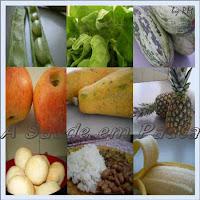 Uma alimentação saudável deve ser variada e conter todos os nutrientes necessários ao organismo