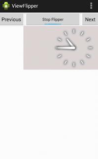 Android ViewFlipper auto flip