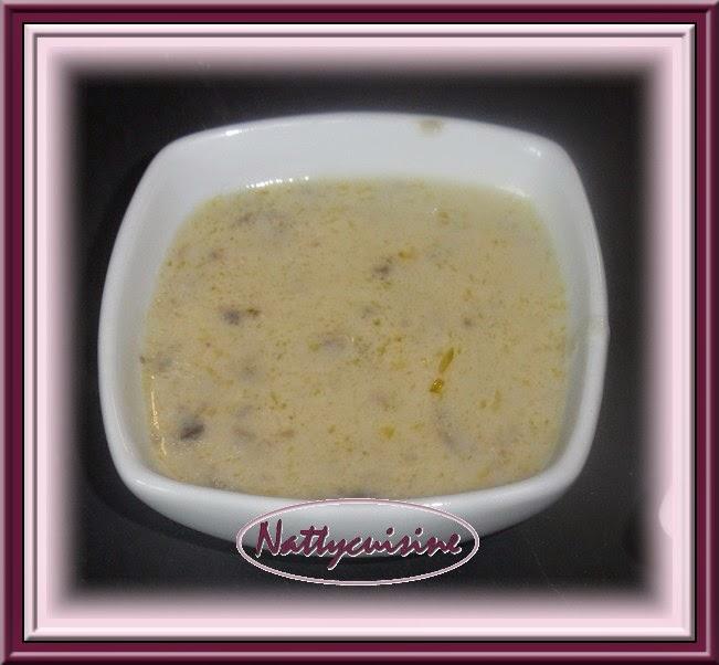 Nattycuisine sauce cr meuse aux champignons - Congeler de la creme fraiche ...