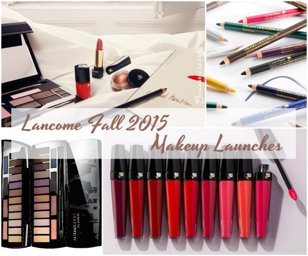 #FrenchFriday : a look at Lancome's Fall 2015 makeup launches