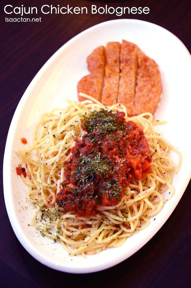 Cajun Chicken Bolognese - RM15.90