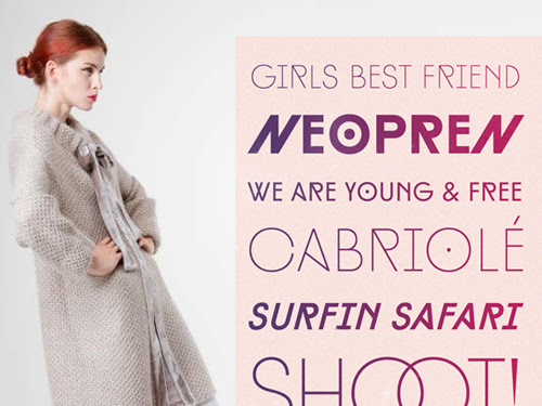 Type + Fashion: Shoot!
