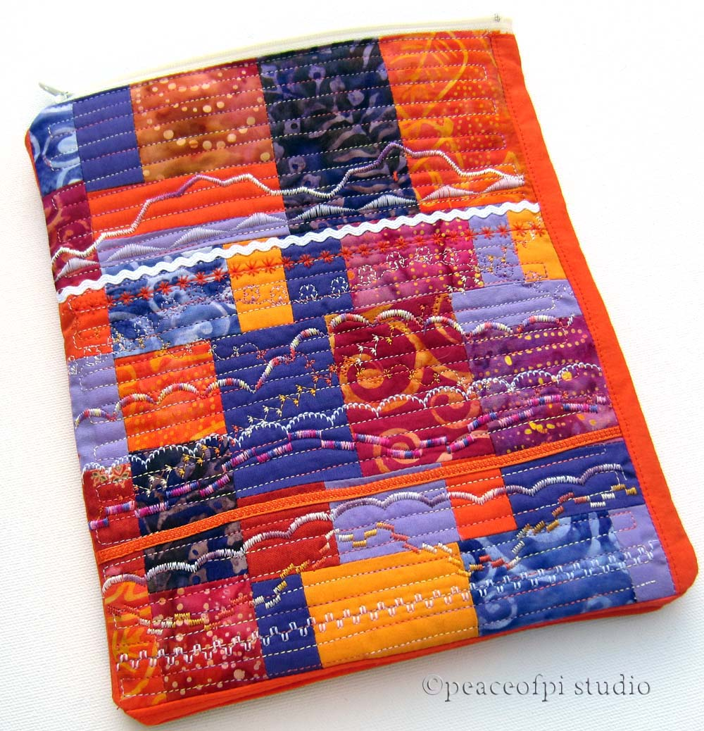 Quilted ipad Sleeve