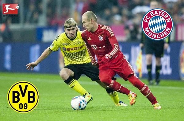 Bayern Munich 1-1 Borussia Dortmund : Le Borussia freine le Bayern