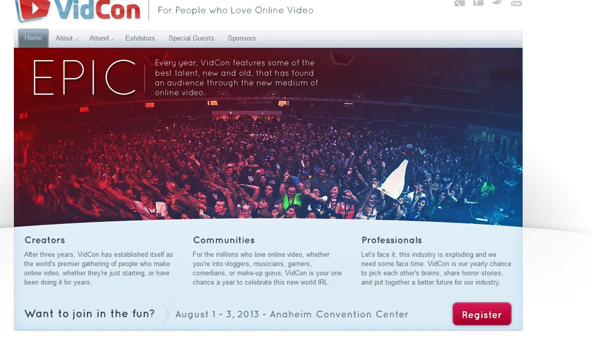 how to get tickets to vidcon