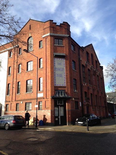 The People's Hall, Freston Road, London W11