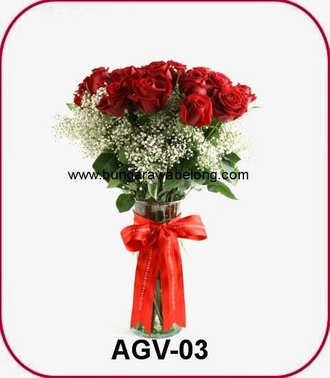 Bunga Mawar Valentine Romantis | Toko Bunga Rangkaian Terbaik Jakarta