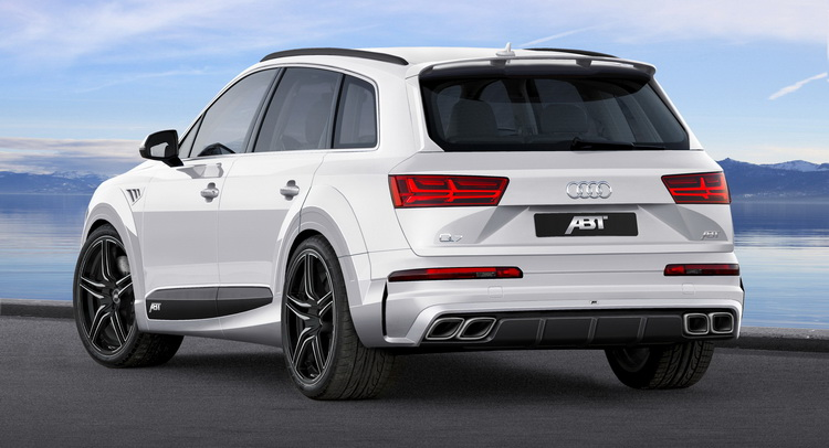 ABT Dresses Audi Q7 in Sportier Clothes, Calls It The QS7