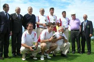 Cantabria Ganador Interterritorial Pitch & Putt 2011 - RFEG