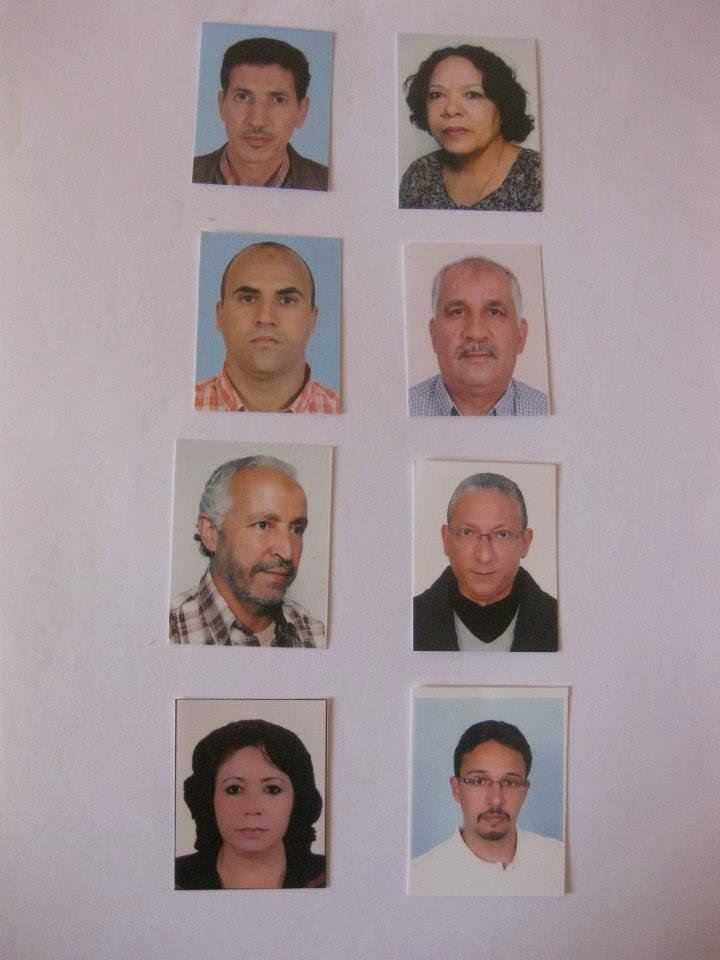 LE NOUVEAU BUREAU DE L ASSOCIATION MAROCAINE DES INFIRMIERS DU BLOC OPERTOIRE DE LA TRAUMATOLOGIE .