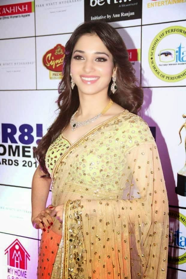 Tamannaah bhatia at GR8! Women Awards 2014