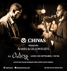Chivas presenta Jazz en O. Livia - Lunes 5 Septiembre - 7:30PM