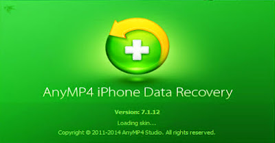 AnyMP4 iPhone Data Recovery 7 + Serial Keys