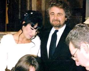 Il matrimonio di Beppe Grillo e Parvin Tadjk