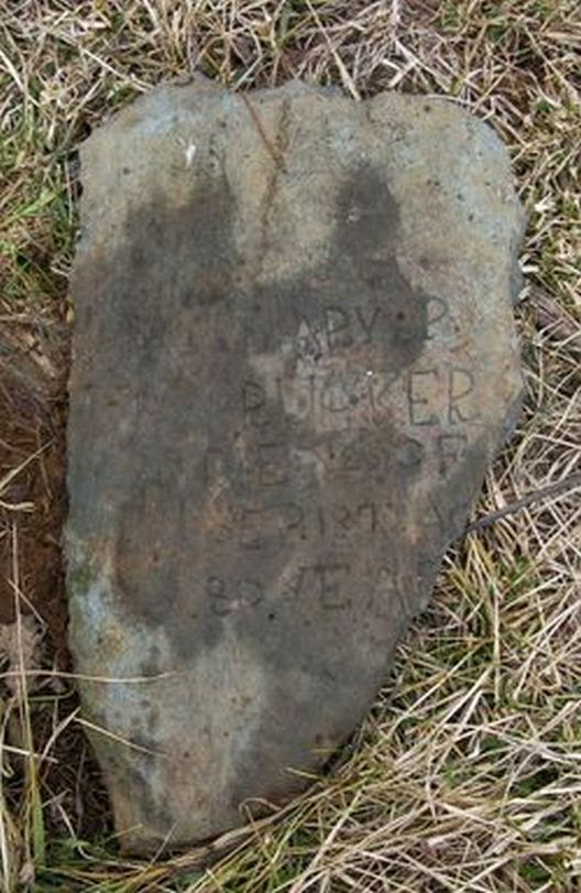Mary P. RUCKER 1791 - 1871 Rockingham County, VA http://jollettetc.blogspot.com