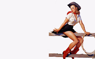 Pin Up Wallpaper