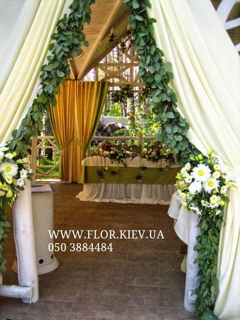 Оформление небольшой свадьбы в Вилла Вита