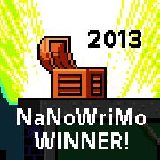 Nanowrimo Wins