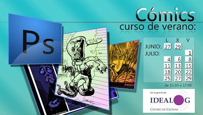 curso photoshop dibujo comic paquete verano