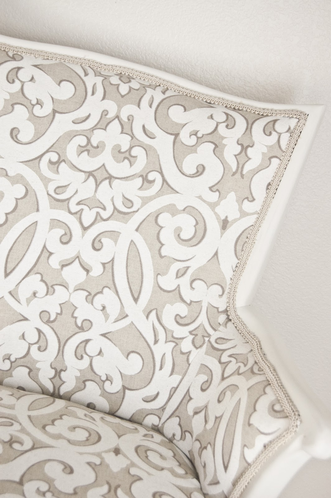 Fresh And Sweet Arm Chair Redo Home Interior