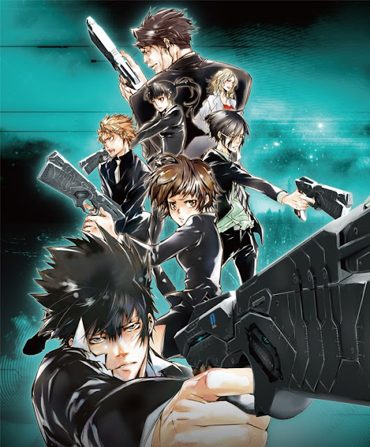 Psycho-Pass Cover Image @ Rewriting Life
