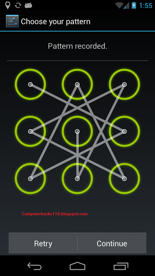 Рисунки для графического пароля