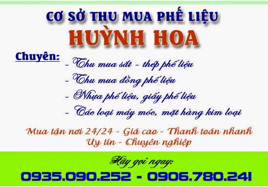Cơ sở Thu Mua Phế liệu Huỳnh Hoa - Đà Nẵng