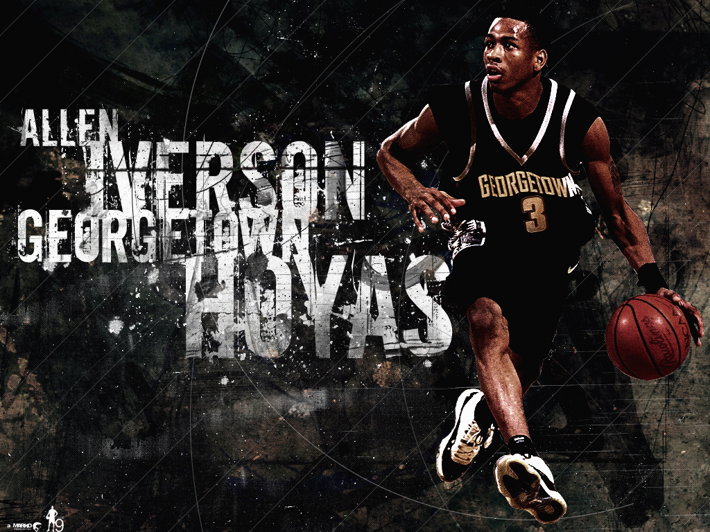 Tweets By Alleniverson Biography Allen Iverson Averaged A School Record 23 0 In His Two Year Tenure At Georgetown He Was Named