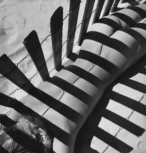 Fernand Fonssagrives Photography, Sand Fence, 1930s, Lisa Fonssagrives