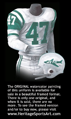 New York Jets 1963 uniform