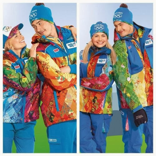 Sochi Winter Olympics Staff and Volunteer Uniforms
