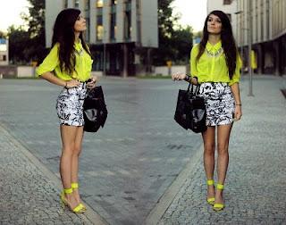 sugestões para uso moda fluor