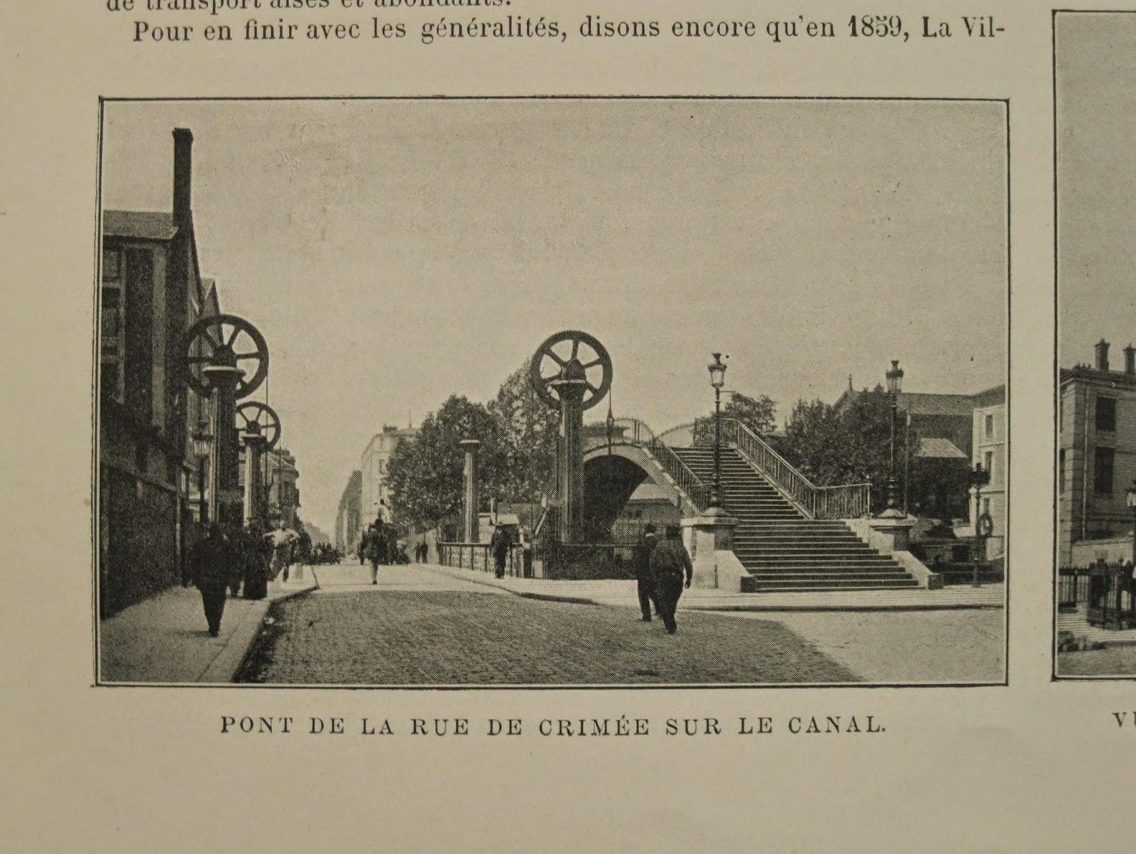 Bournon Paris Atlas 19e Larousse pont crimée
