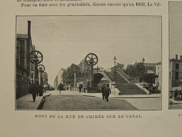Bournon Paris Atlas 19e Larousse pont crimée