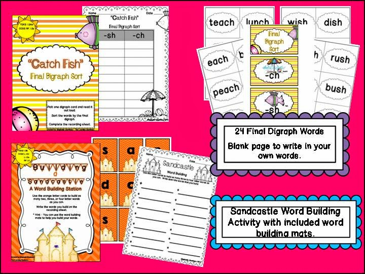 http://www.teacherspayteachers.com/Product/Sizzlin-Summer-Stations-7-Low-Prep-TEKS-and-CCSS-aligned-Literacy-Activities-689754