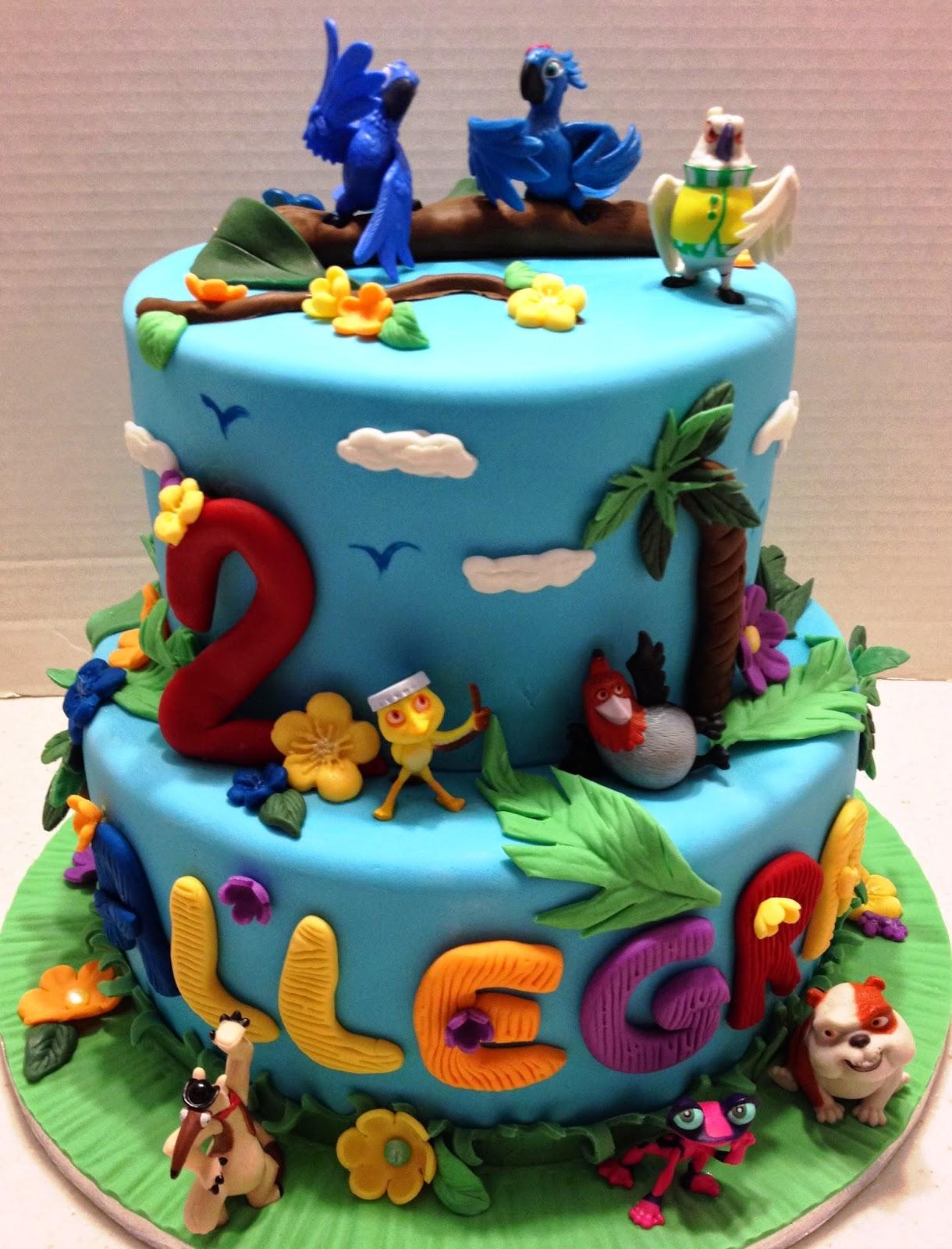 Marymel Cakes Rio Themed Birthday Cake