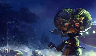 Chinese Alien Invader Heimerdinger