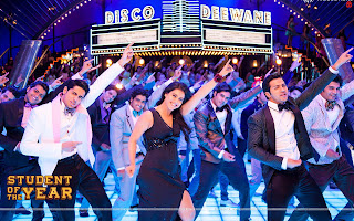 Student Of The Year Wallpaper Hot Kajol, Varun Dhawan, Sidharth Malhotra The Disco Song