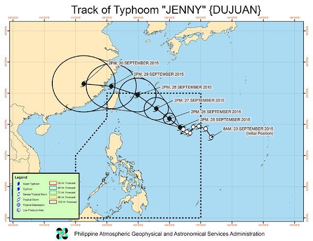 track typhoon Jenny