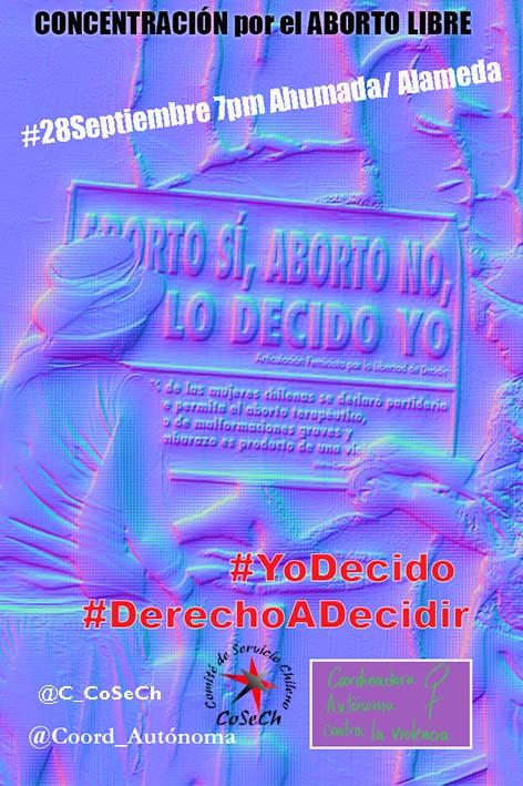 #28S DÍA MUNDIAL POR LA DESPENALIZACIÓN Y LEGALIZACIÓN DEL ABORTO