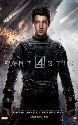 Fantastic Four Character Movie Poster Set - Miles Teller as Reed Richards / Mr. Fantastic