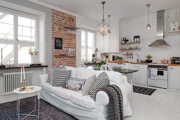 Comedor de 7 metros decorar tu casa es for Comedor 20 metros cuadrados