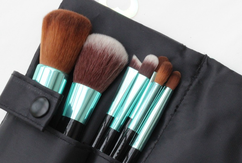 Neve brushes in the pouch