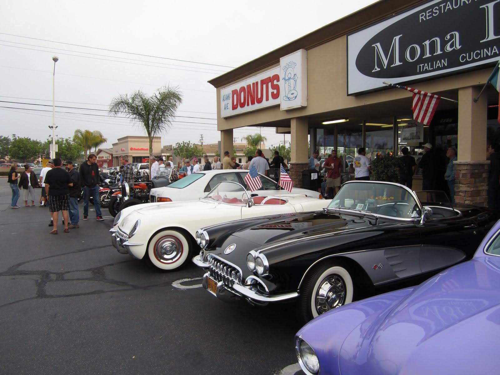 Huntington Beach Donut Shop Car Show