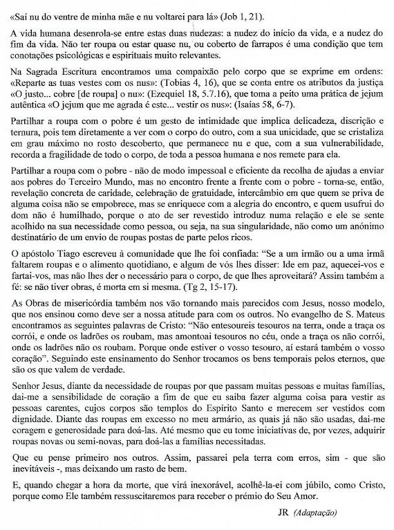 QUARESMA - 2016