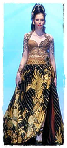 Model Baru Gaun Batik | newhairstylesformen2014.com
