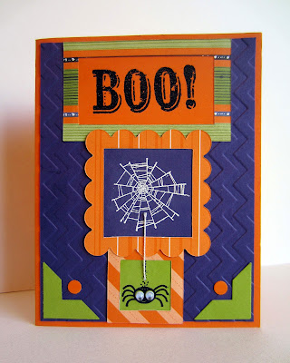 diy googly spider card