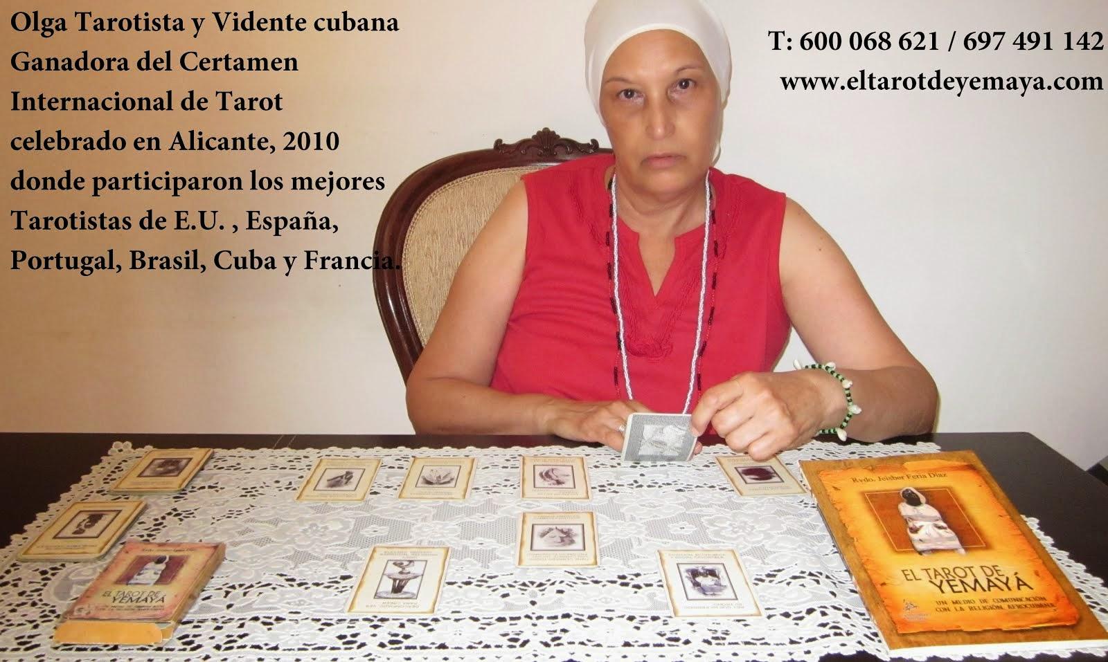 Mejor Tarotista del Mundo, Olga Díaz